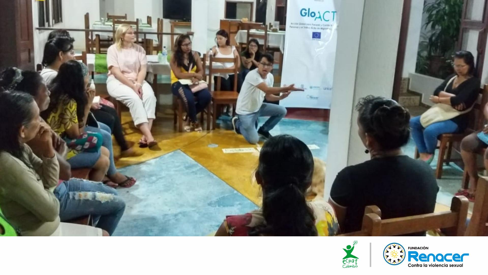 Formamos a mujeres líderes de las 22 comunidades indígenas de Puerto Nariño en el Amazonas