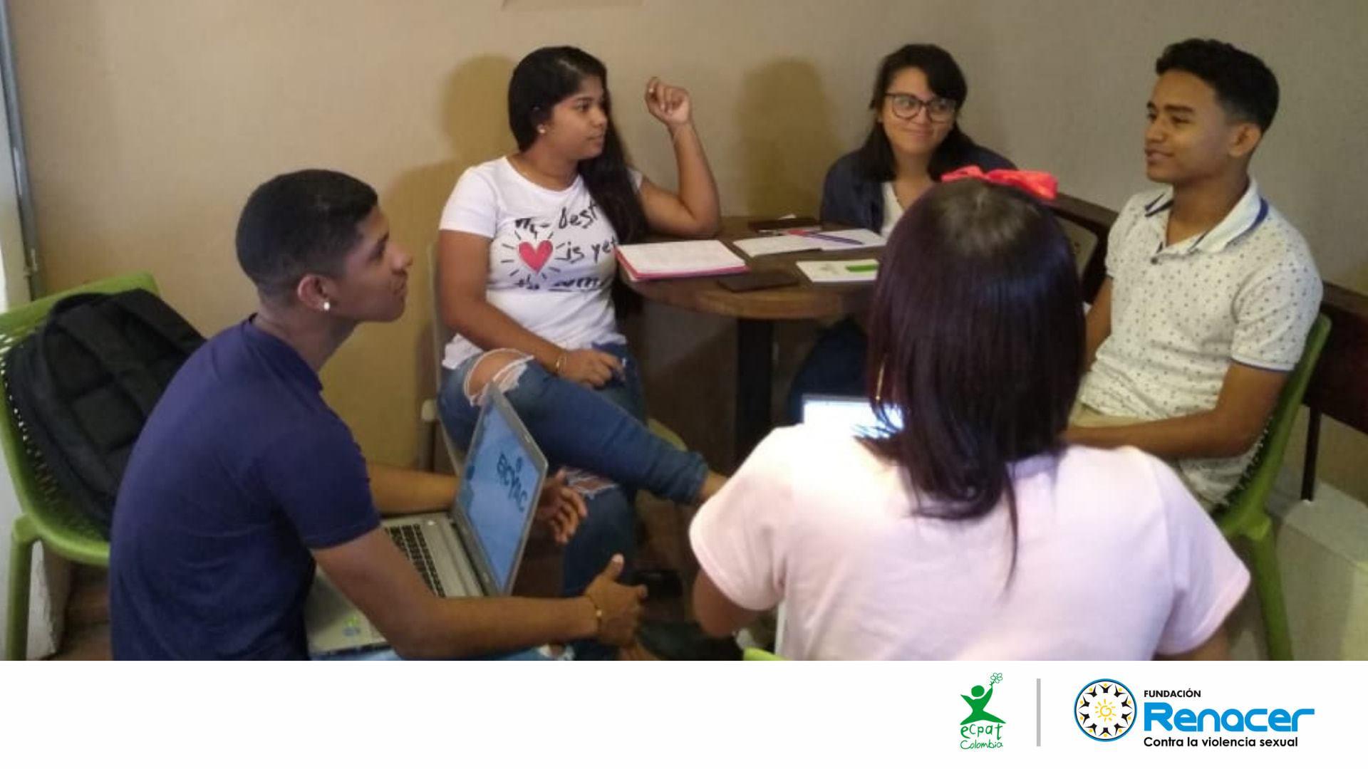 Grupo EICYAC Cartagena diseña propuesta audiovisual para la prevención de la ESCNNA en entornos digitales