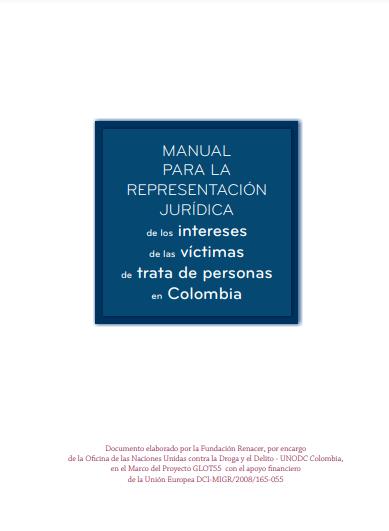 Manual para la representación jurídica