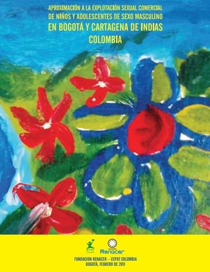Aproximación a la explotación sexual comercial de niños y adolescentes de sexo masculino en Bogotá y Cartagena de Indias Colombia