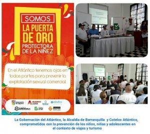 Barranquilla comprometida con la prevención de la ESCNNA