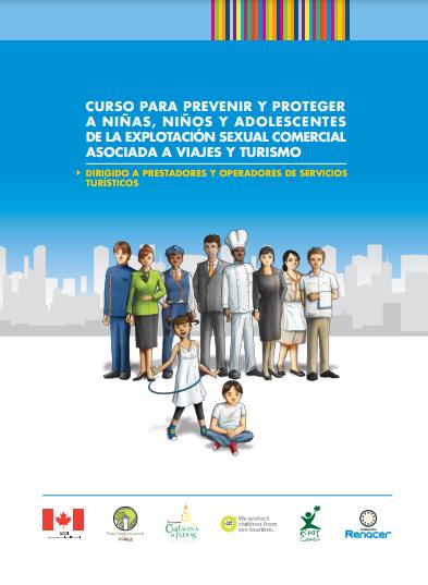 Cursos para prevenir y proteger a los NNA de la explotación sexual comercial asociada a viajes y turismo