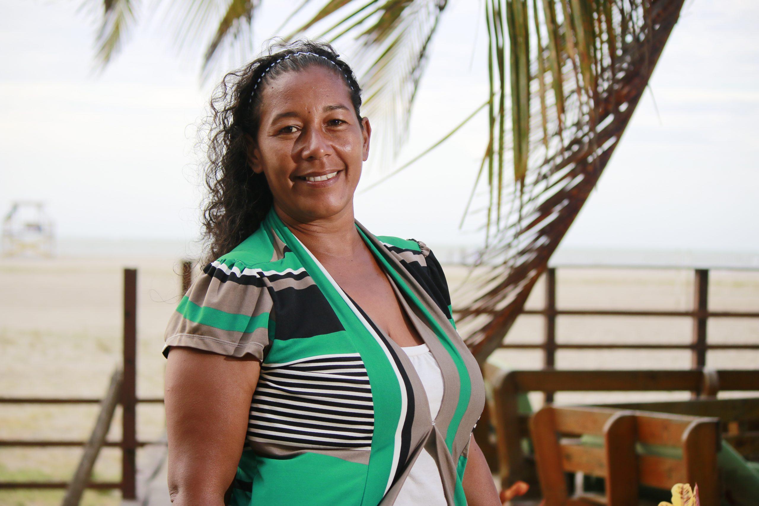 Angelica Campos, una líderesa comprometida con su comunidad.